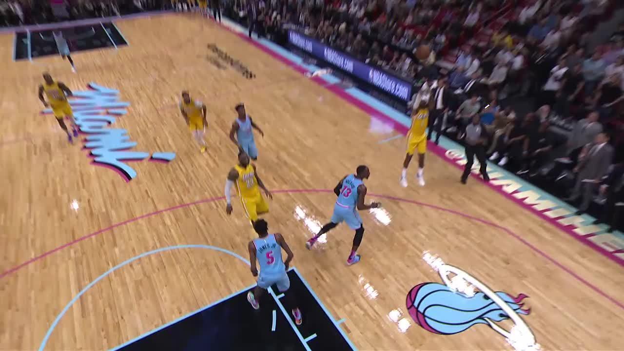 Assistência da noite: LeBron James, do Los Angeles Lakers