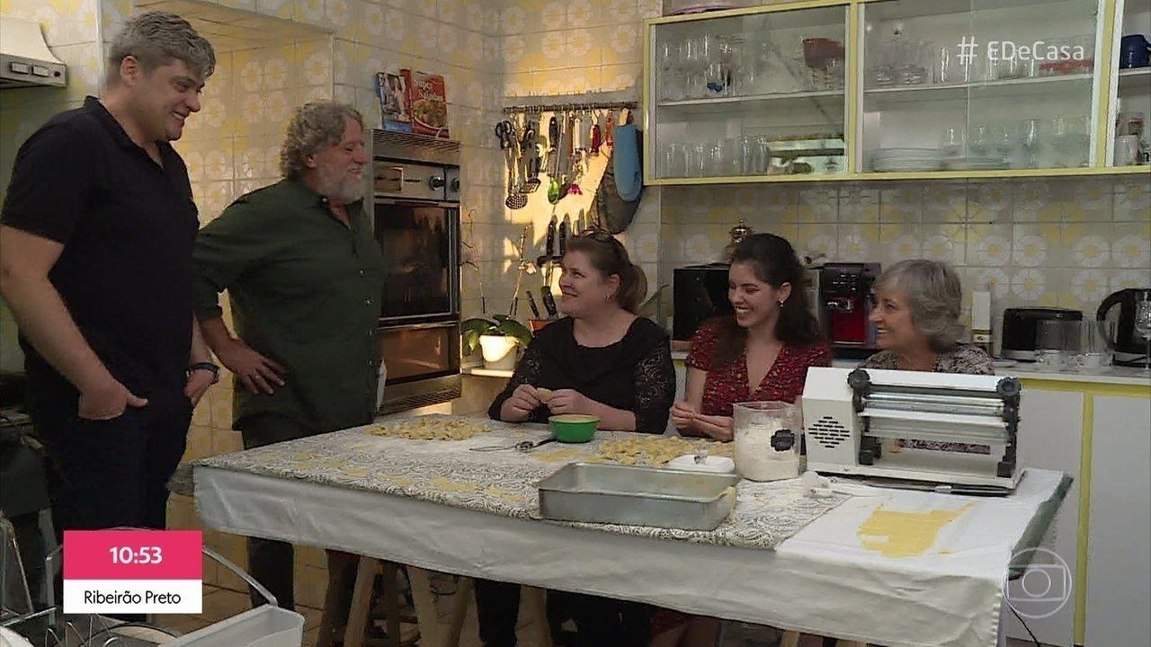 Ravioli conhece receita natalina de uma família de São Paulo