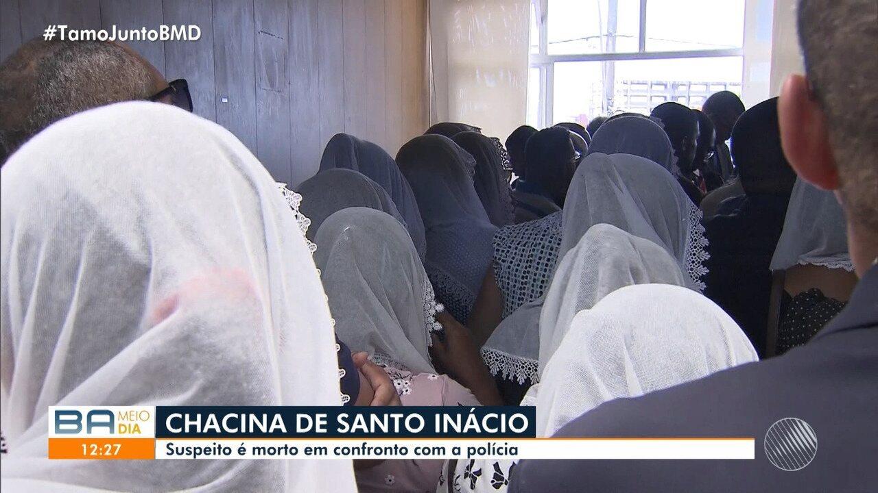 Duas das vítimas da chacina no bairro Jardim Santo Inácio são enterradas neste sábado