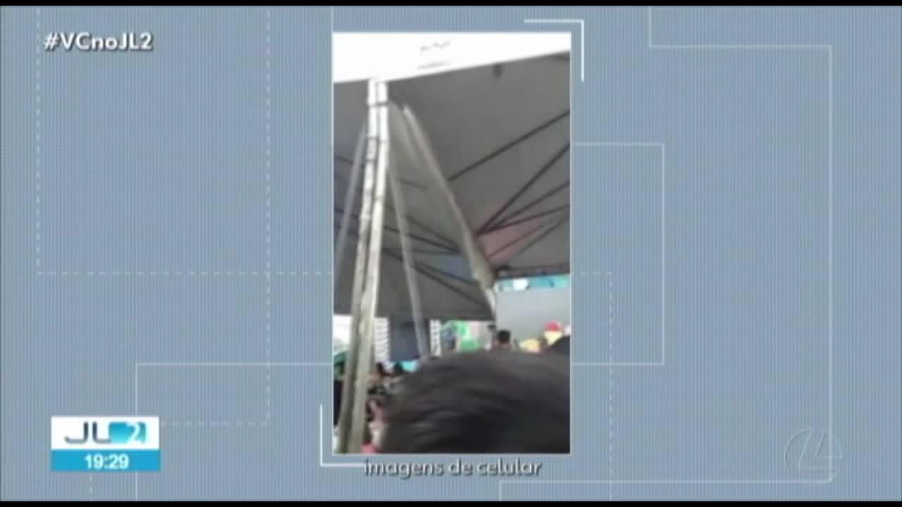 Mais de 30 pessoas ficam feridas em desabamento de estrutura de show infantil em Belém