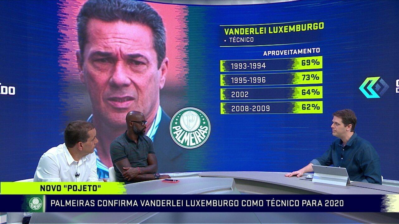 Troca de Passes fala sobre a contratação de Vanderlei Luxemburgo no Palmeiras