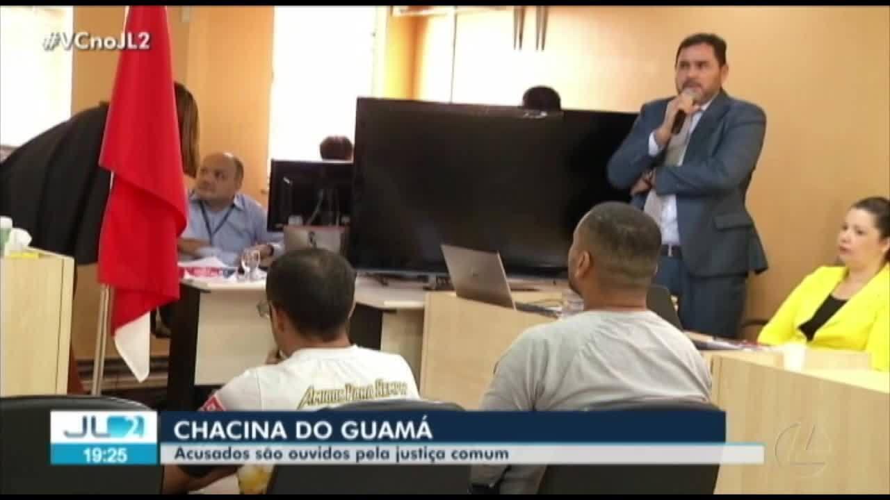 Justiça ouve 7 dos 8 acusados de participação na 'Chacina do Guamá', em Belém
