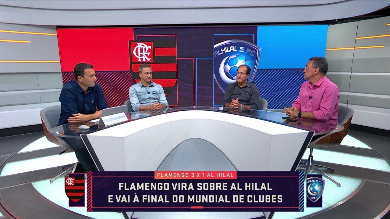 Comentaristas elogiam Bruno Henrique