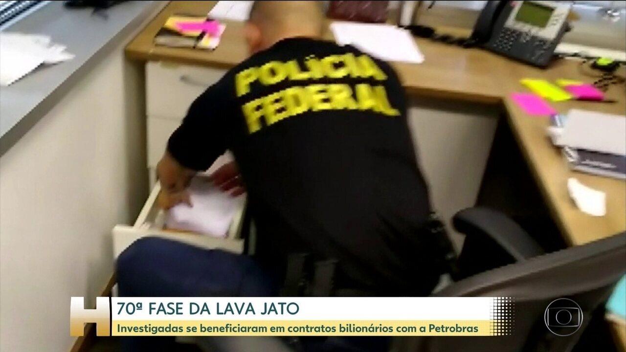 70ª fase da Lava Jato mira empresas com contratos de fretamento de navios com a Petrobras