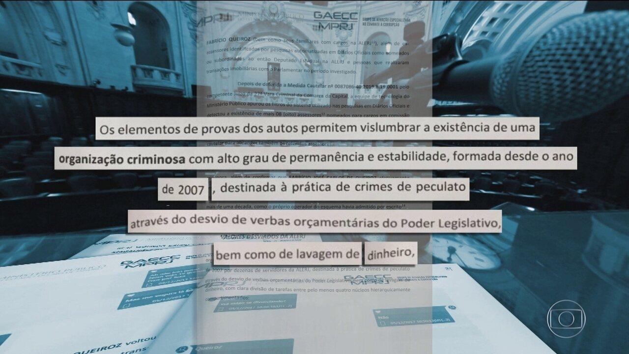 MP do RJ detalha suposto esquema de corrupção envolvendo então deputado Flávio Bolsonaro