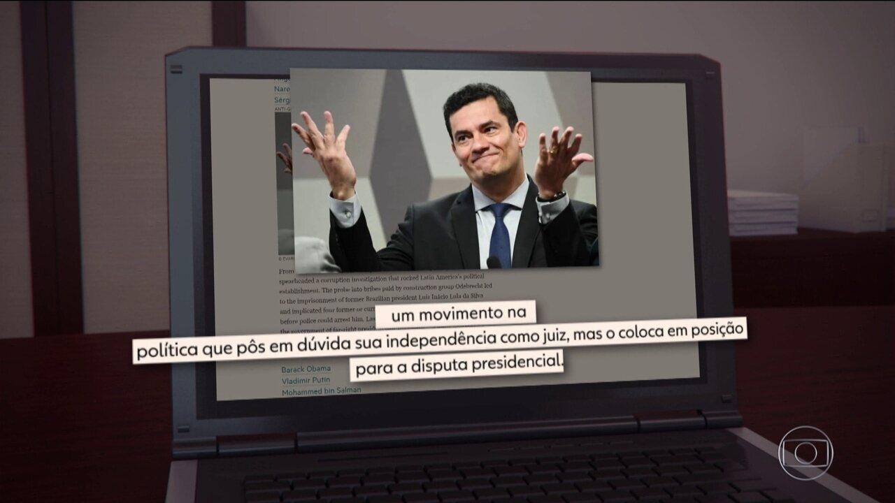 8190177 - Sergio Moro é eleito uma das 50 personalidades da década pelo jornal 'Financial Times'