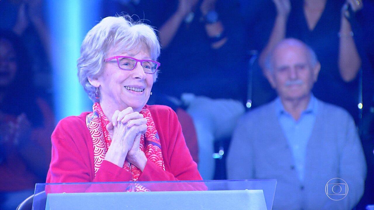 Julieta Widman participa do último episódio da temporada do 'Quem Quer Ser Um Milionário'