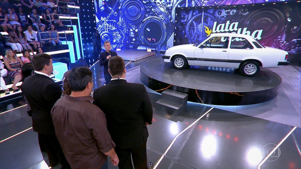 Veja como ficou o Chevette 83 de Heverton e Jhonatan após reforma do 'Lata Velha'