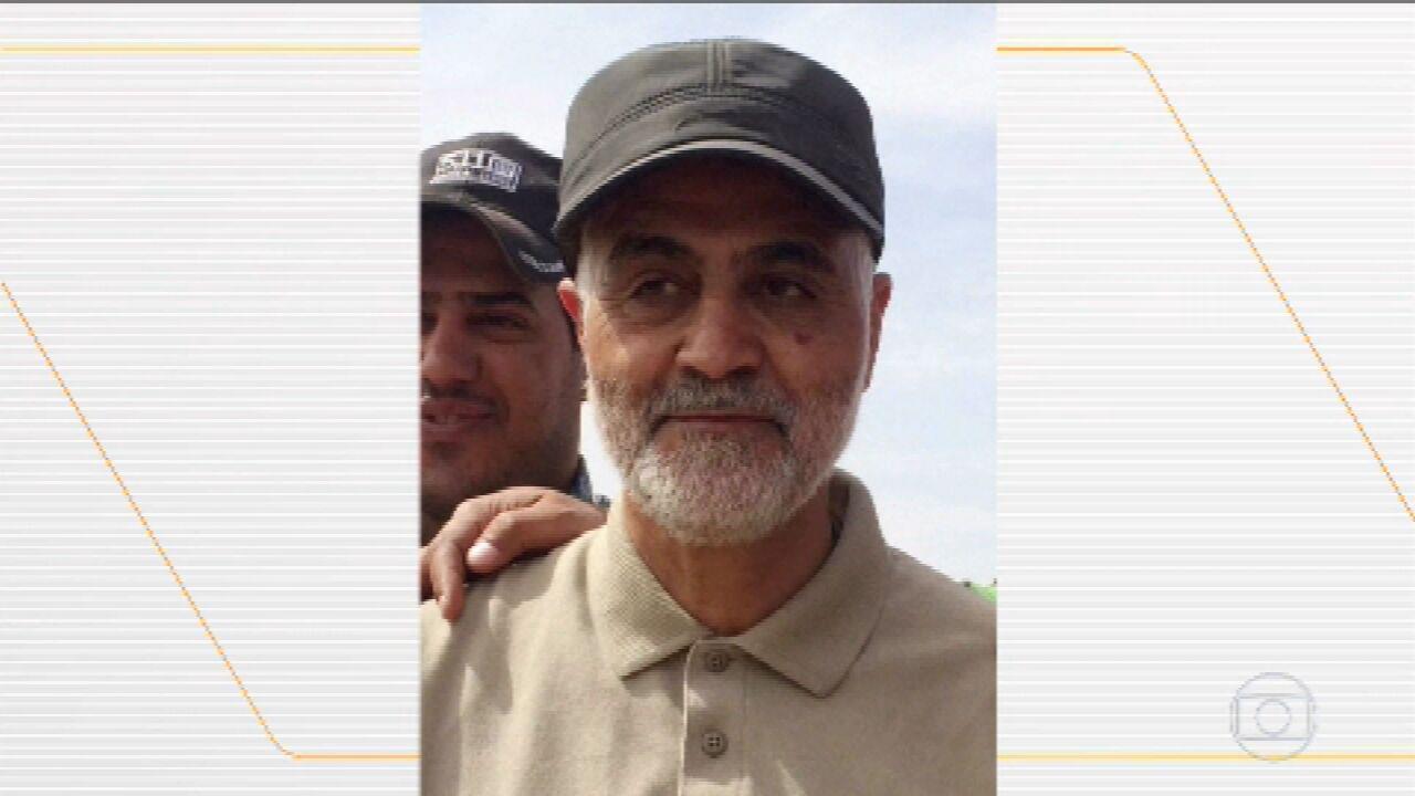 Ataque aéreo dos EUA em Bagdá mata principal general iraniano