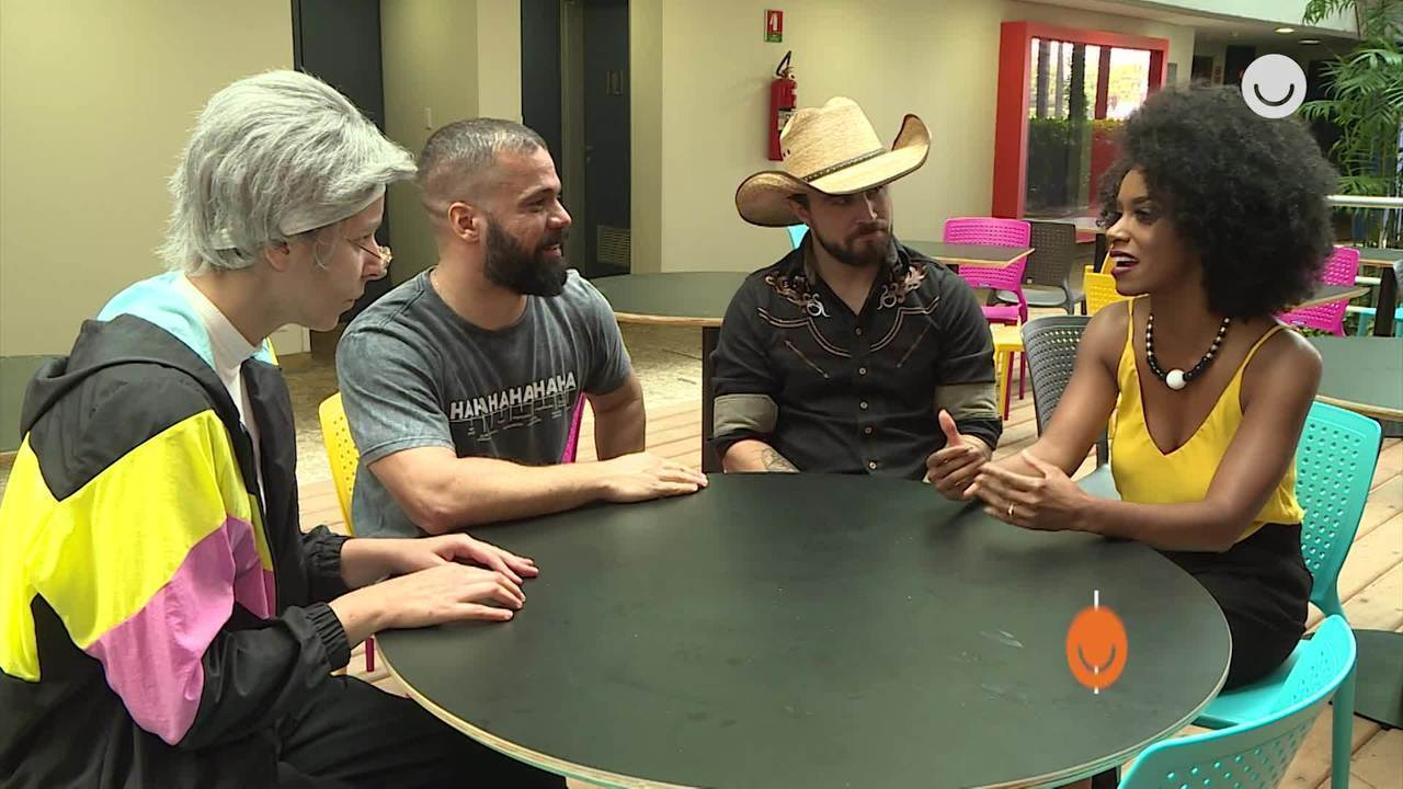 Ivi Pizzott conversa com os participantes do 'Quem Chega Lá'