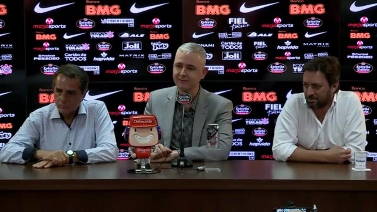 Veja a íntegra da coletiva de imprensa do técnico Tiago Nunes, do Corinthians