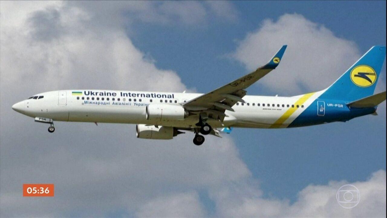 Irã se recusa a dividir os registros de avião que caiu no país com a Boeing