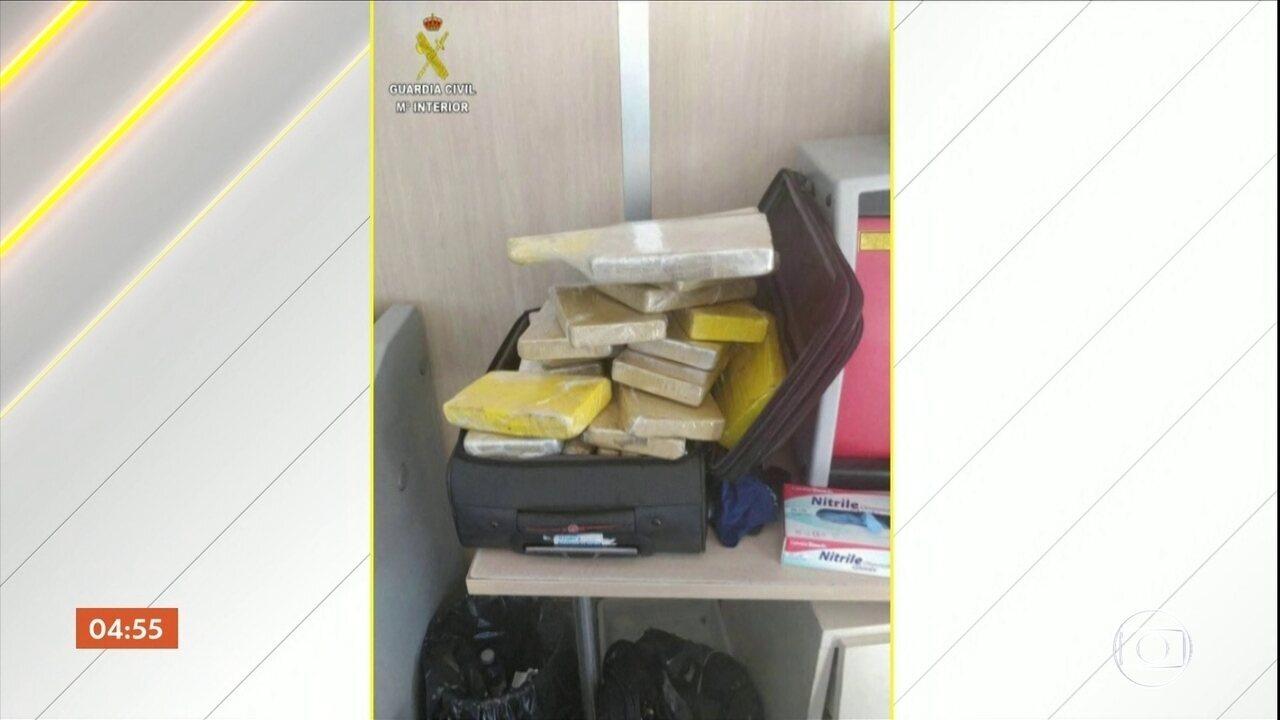 Sargento da FAB detido com cocaína se tornou réu por tráfico internacional