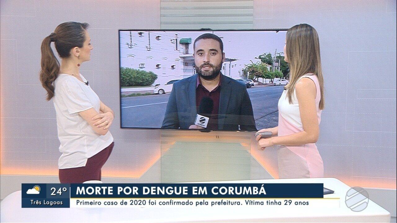 Corumbá registra primeira morte por dengue em MS de 2020