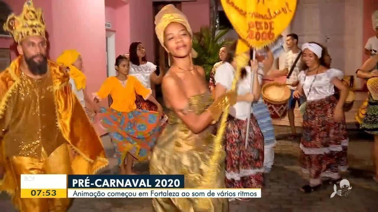 Pré-Carnaval 2020: Animação começa ao som de diferentes ritmos