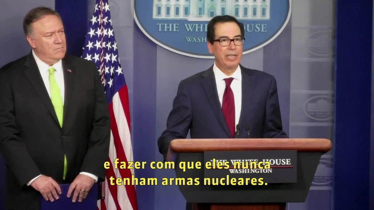 EUA anunciam novas sanções econômicas contra o Irã