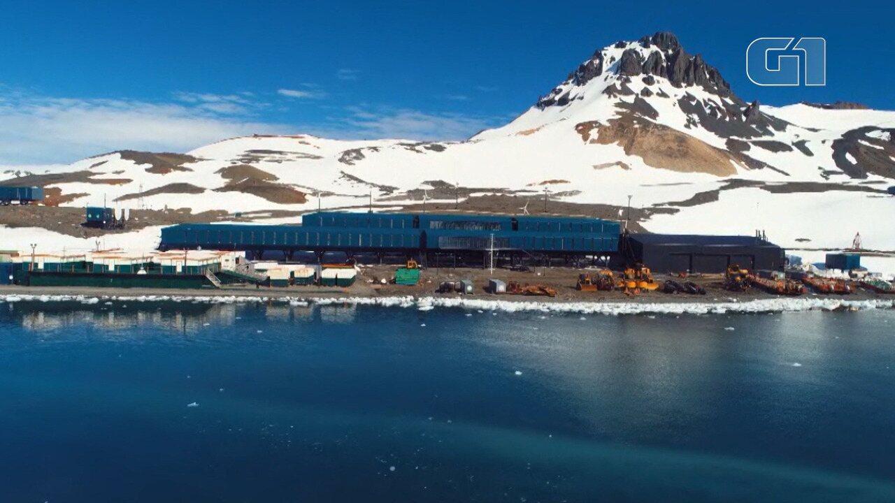 Estação antártica brasileira é inaugurada oito anos depois de incêndio