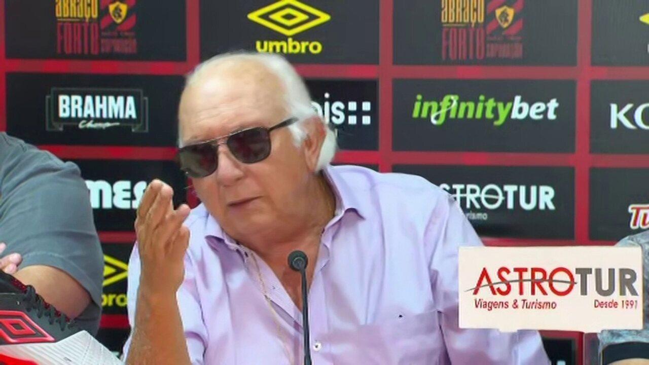Milton Bivar afirma que Sport está perto de negociar dívidas com Mark González
