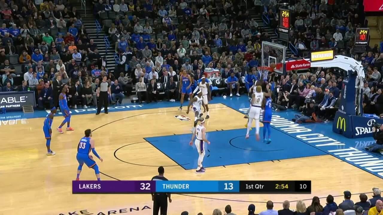 Confira o Top 10 da noite de sábado da NBA