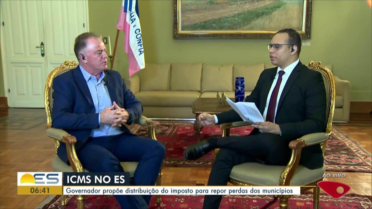 Entrevista: governador Renato Casagrande apresenta projetos do governo para 2020