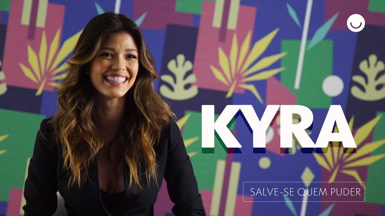 Vitória Strada fala sobre Kyra, sua personagem em 'Salve-se Quem Puder'