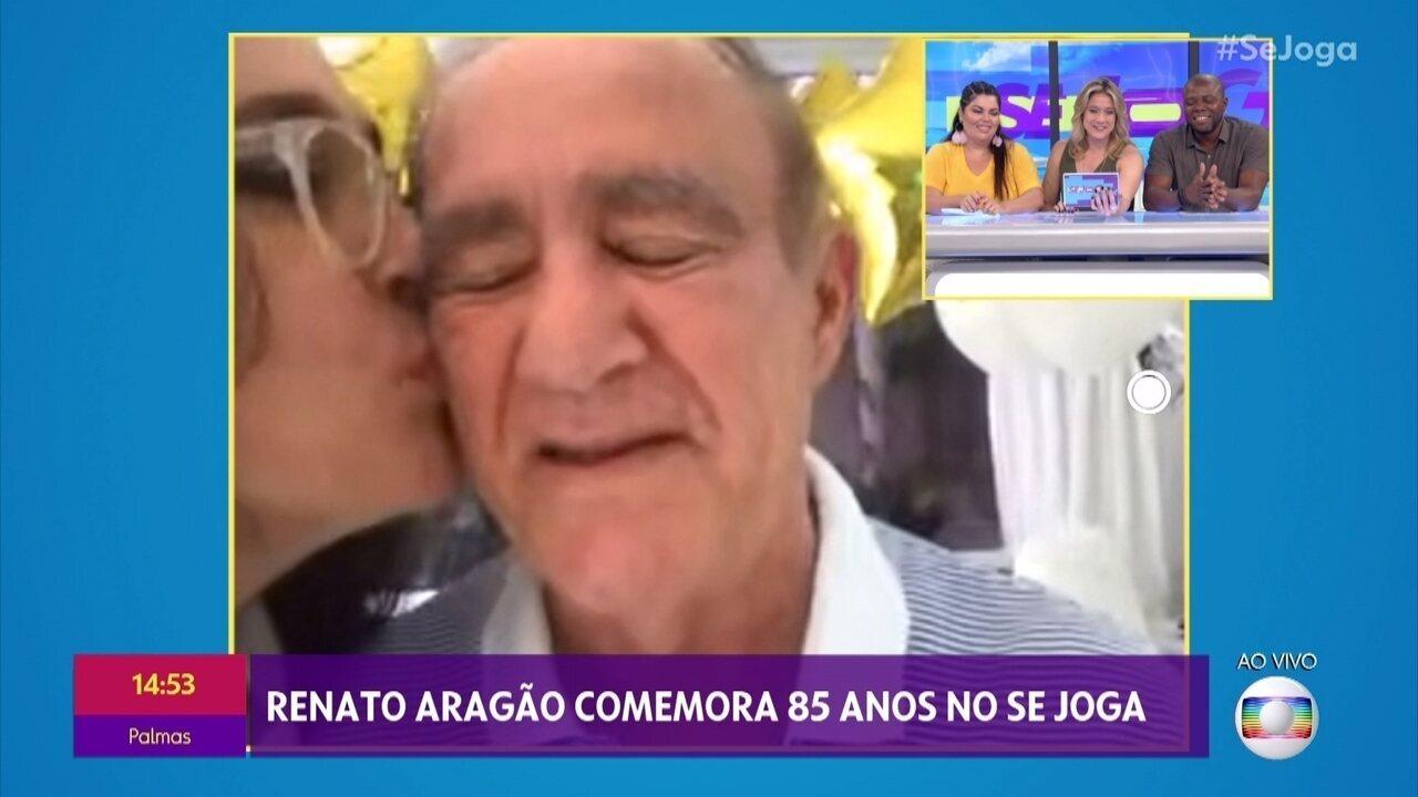 'Se Joga' conversa com Renato Aragão