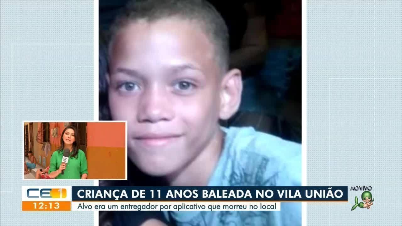 Criança de 11 anos é baleada no Vila União