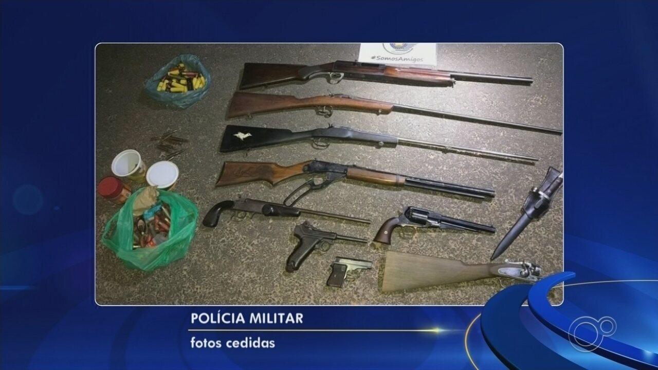 Homem mata pai com tiro na cabeça e atira contra amiga durante briga em Itupeva