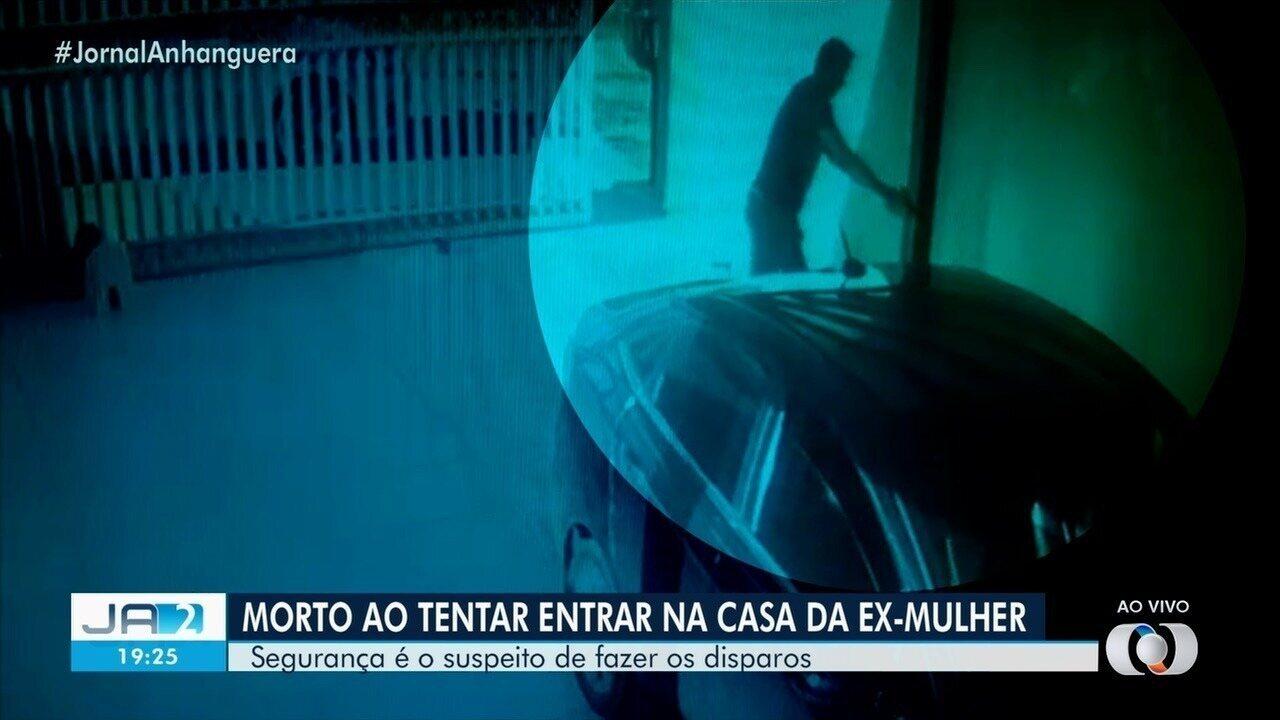Vídeo mostra quando ex-marido é morto ao entrar na casa de advogada, em Formosa