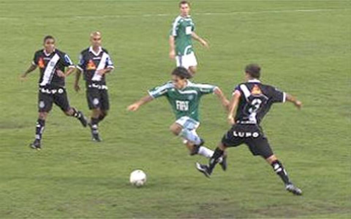 Melhores momentos: Palmeiras 5 x 0 Ponte Preta pela final do Paulistão 2008