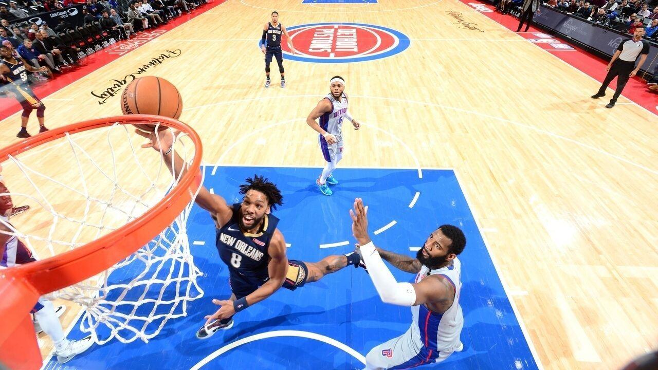 Melhores momentos de New Orleans Pelicans 117 x 110 Detroit Pistons pela NBA