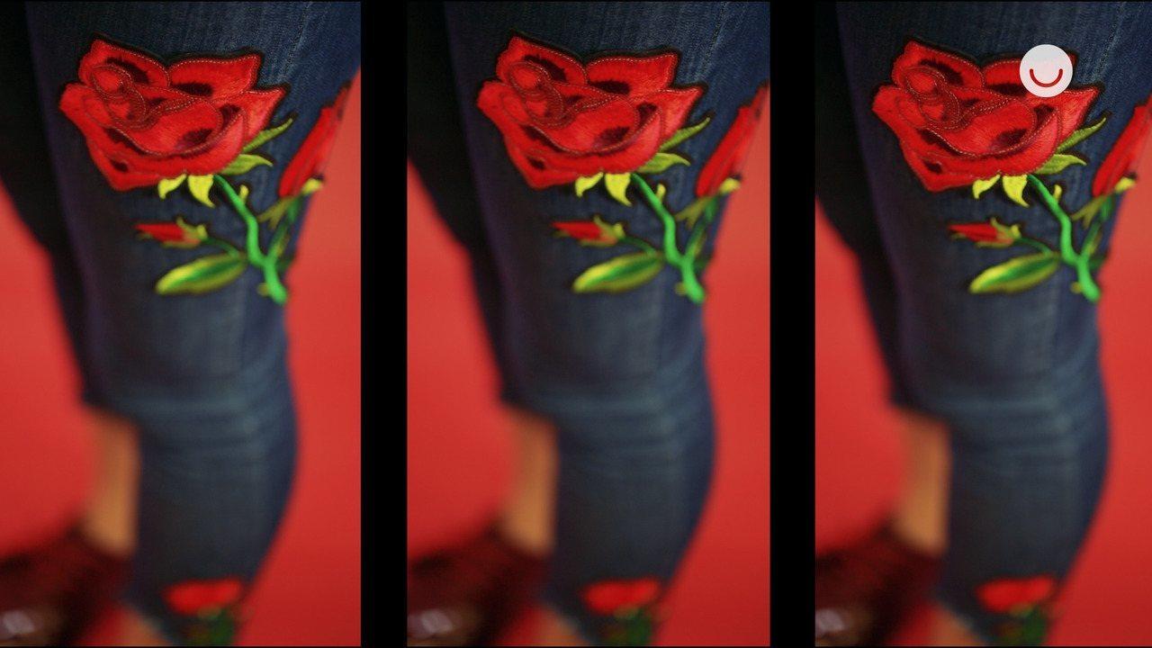 Faça Você Mesmo: customização de calça jeans com patches