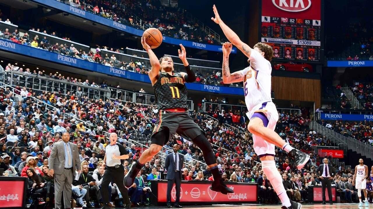 Melhores momentos de Atlanta Hawks 123 x 110 Phoenix Suns pela NBA