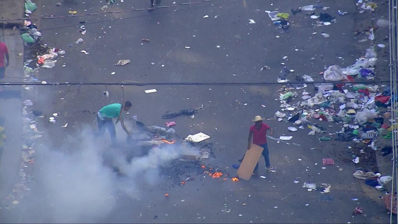 Polícia Militar faz operação na Cracolândia, em São Paulo