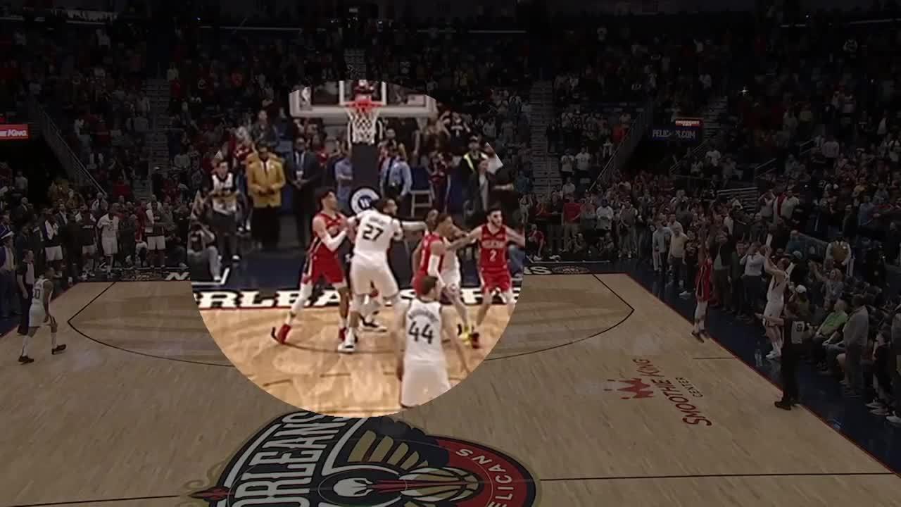 Melhores momentos de New Orleans Pelicans 138 x 132 Utah Jazz pela NBA