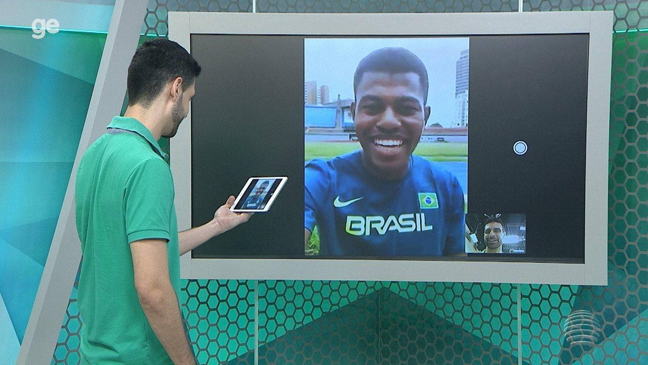 """Dracenense convocado revela alegria por Sul-Americano """"ajudar"""" na corrida olímpica"""