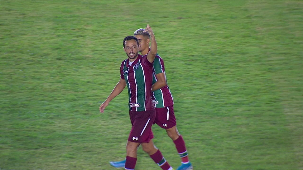 O gol de Cabofriense 0 x 1 Fluminense pela 1ª rodada do Campeonato Carioca