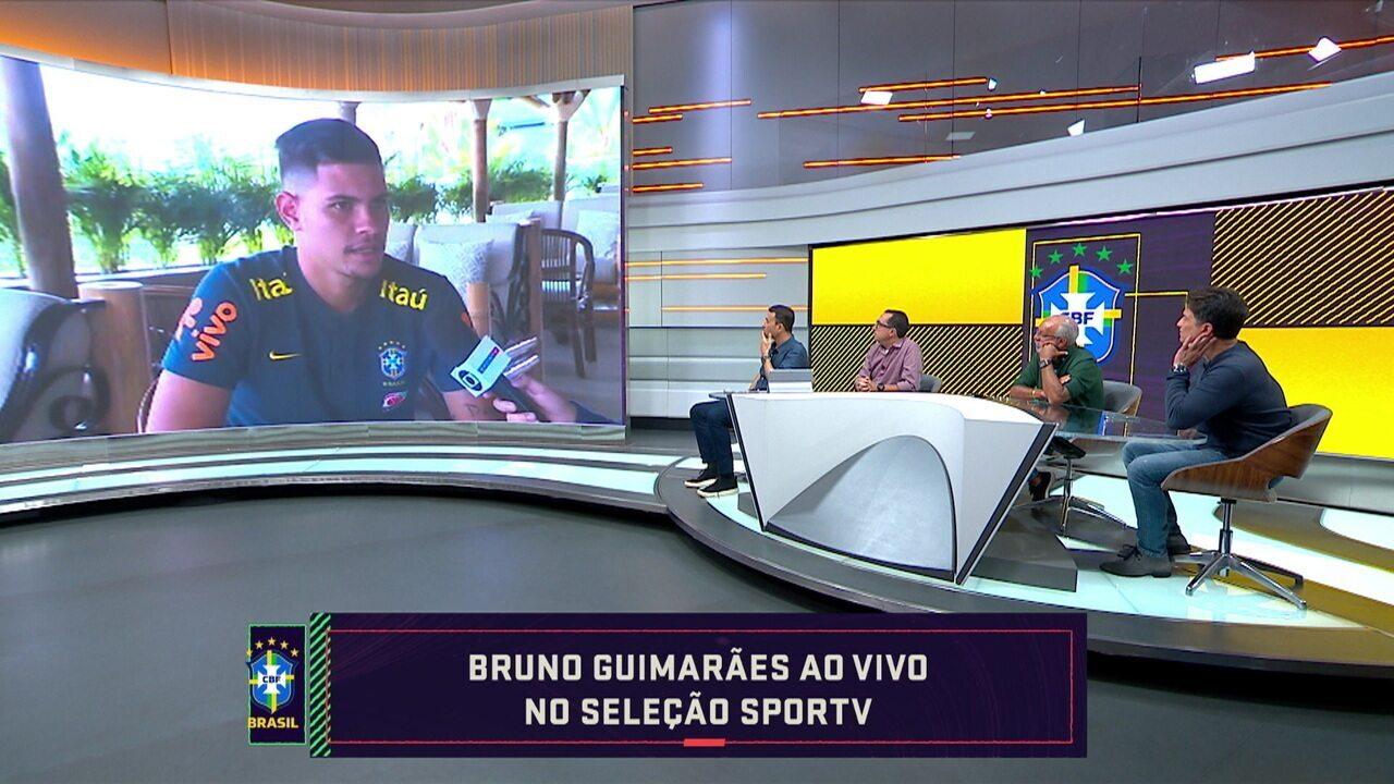 Capitão da seleção no Pré Olímpico, Bruno Guimarães fala sobre dificuldade e concorrência no torneio