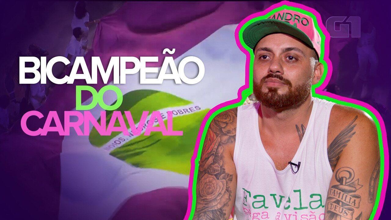 Leandro Vieira comenta como é participar do carnaval de três escolas em 2020