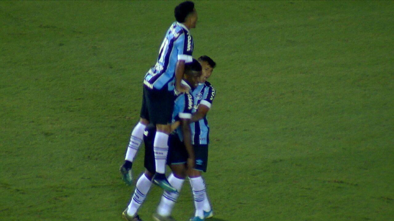 Veja o gol de Elias, na vitória sobre o Oeste por 1 a 0, na semifinal da Copinha