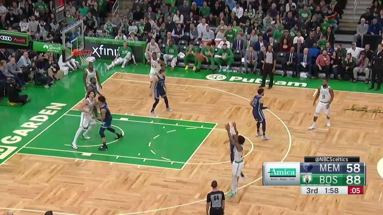 Melhores momentos: Boston Celtics 119 x 95 Memphis Grizzlies pela NBA