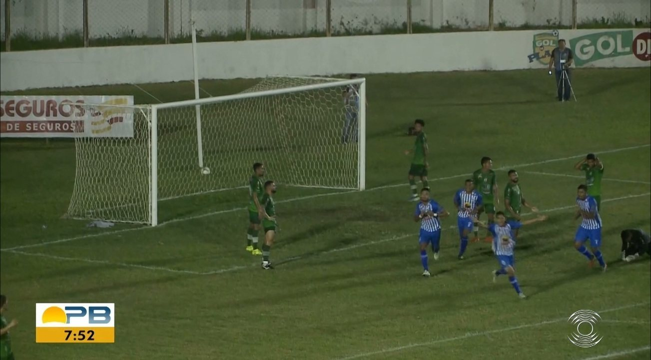 Assista aos gols da vitória do Atlético-PB sobre o Nacional de Patos, pela primeira rodada
