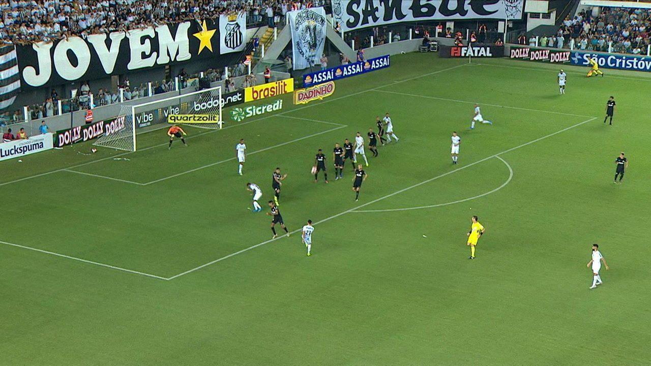 Melhores momentos: Santos 0 x 0 Bragantino pela 1ª rodada do Campeonato Paulista