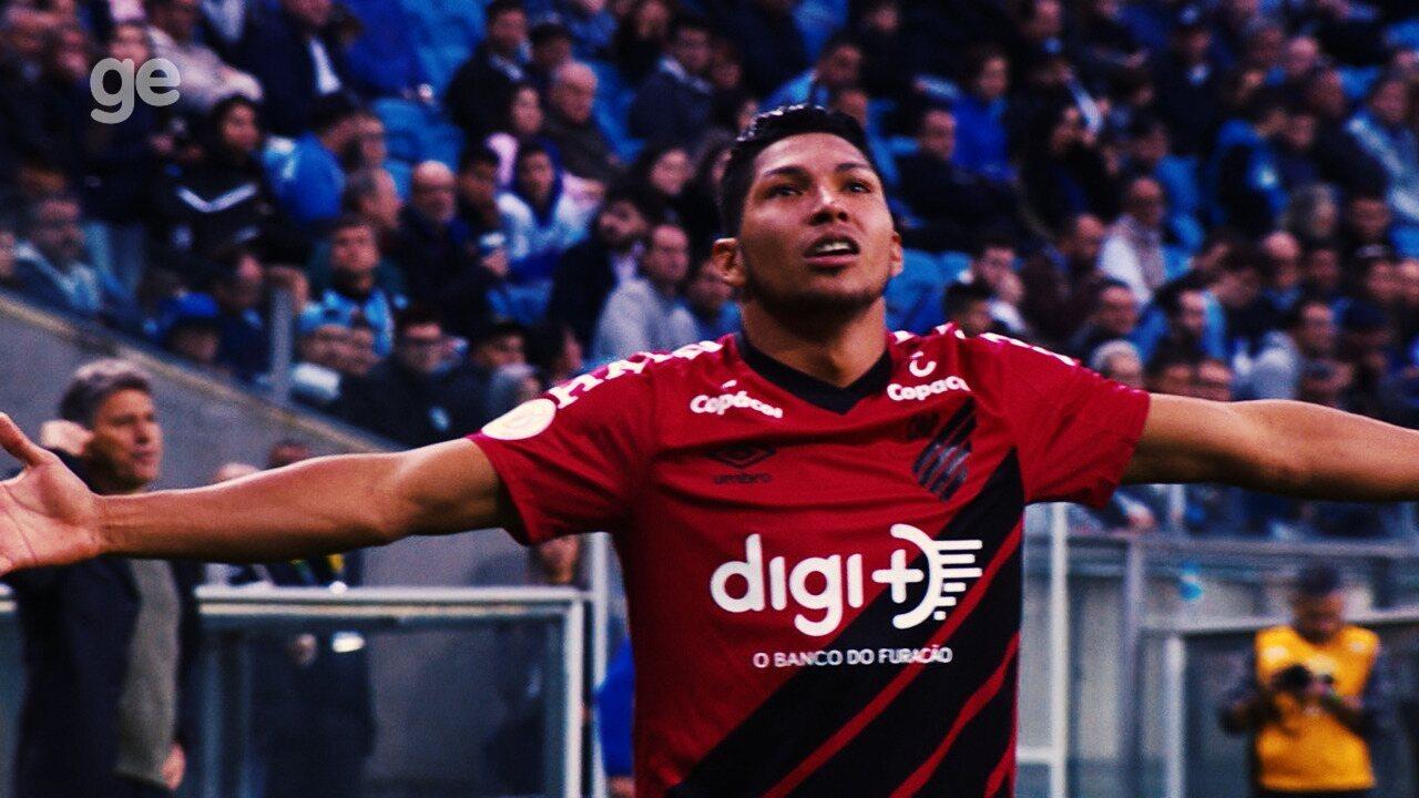 Confira os gols de Rony no Brasileirão 2019