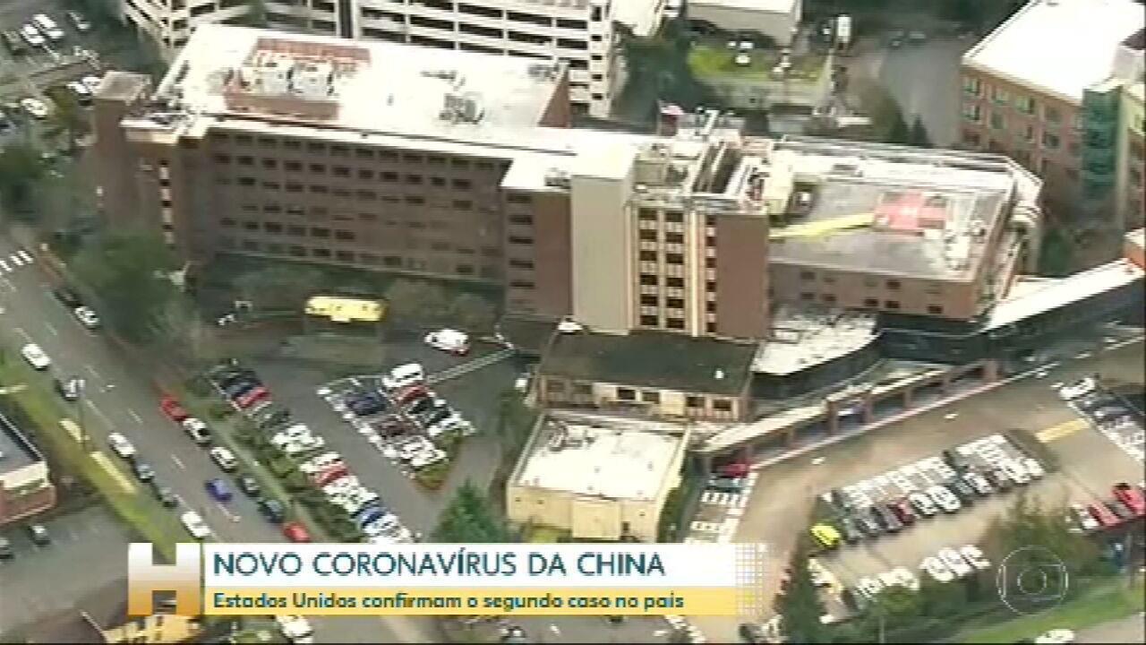Estados Unidos confirmam o segundo caso de novo coronavírus no país