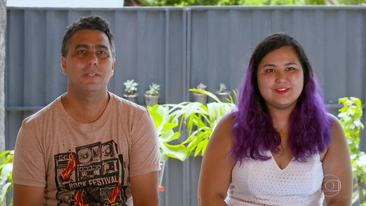 Família de Brumadinho participa do 'The Wall'