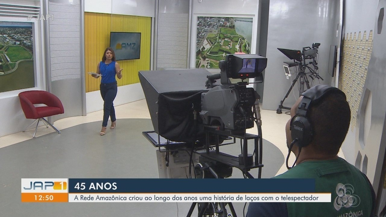 Rede Amazônica 45 anos: TV alia conteúdo com rádio e a web para alcançar novos horizontes