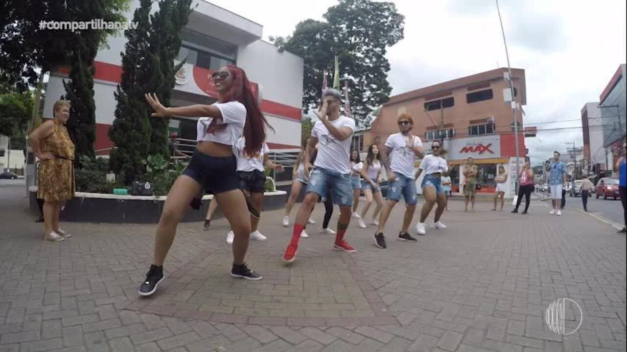 Grupo de Santa Isabel aceita desafio de dançar na rua