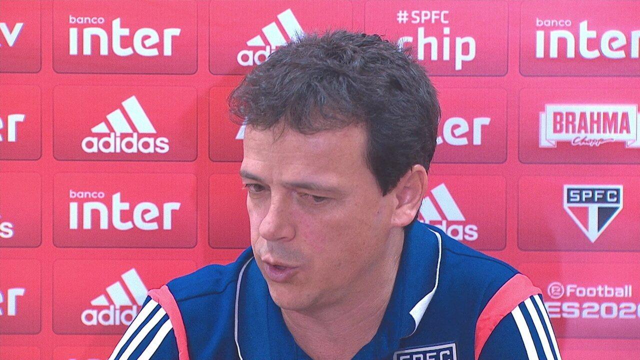 Veja a entrevista do técnico Fernando Diniz