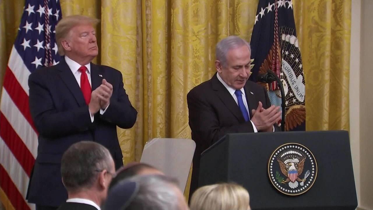 Plano de paz é criticado por ser cortina de fumaça para Netanyahu, indiciado por corrupção